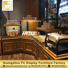 shop counter design bakery shelving wood cake showcase bread display rack bakery display counter modern furniture