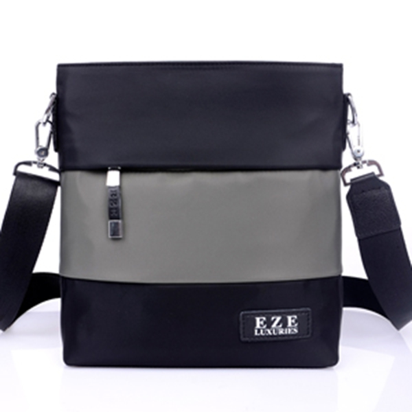 new trend hot sale high quality genuine canvas men bags made in manufacturer
