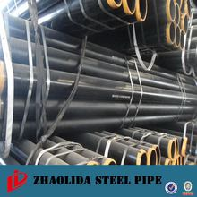 Good quality thin wall black steel pipe value size