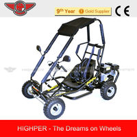 High Quality 196CC 4 stroke Dry Cluth Gas off road Go Kart /Buggy Single Seat With CE