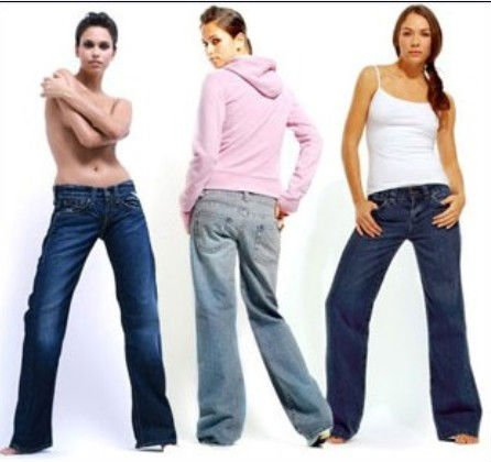 Blue 2012 Fashion Womens Jeans