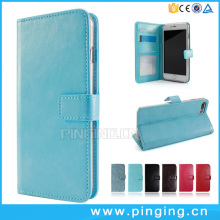 Contracted Crystal Crazy Horse Grain Photo Frame Card Slot Case For Meizu M3 Max Leather Case