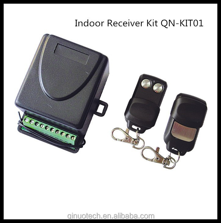 2 channel or 4 channel indoor radio receiver with CE certificate QN-KIT01