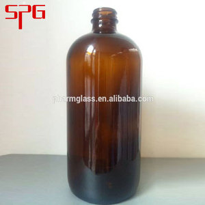 32oz lucifugal medical reagent brown glass bottle