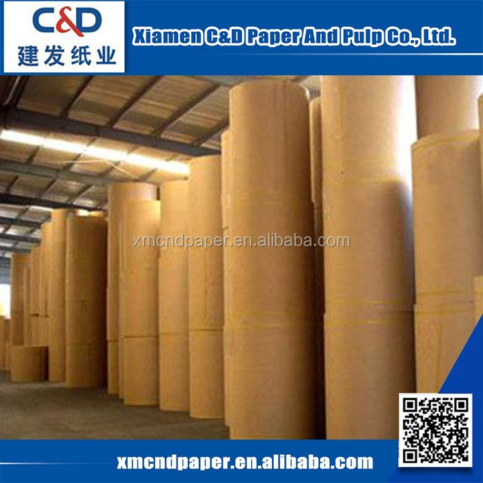 China Factory Wholesale Kraft Paper For Sale White Kraft Paper Roll