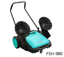 Walk Behind Small Electric Hand Push Street Sweeper
