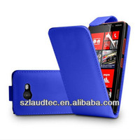Leather Flip Case for HTC One M7
