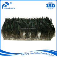 High Quality #197 Bronze Natural Strung 4-6 inch Rooster Feather Plumage Rooster Saddle Feathers Wholesale