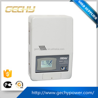 SRWII-9000VA-L single phase wall mounted LCD display relay control full AC automatic voltage regulator/stabilizer/AVR