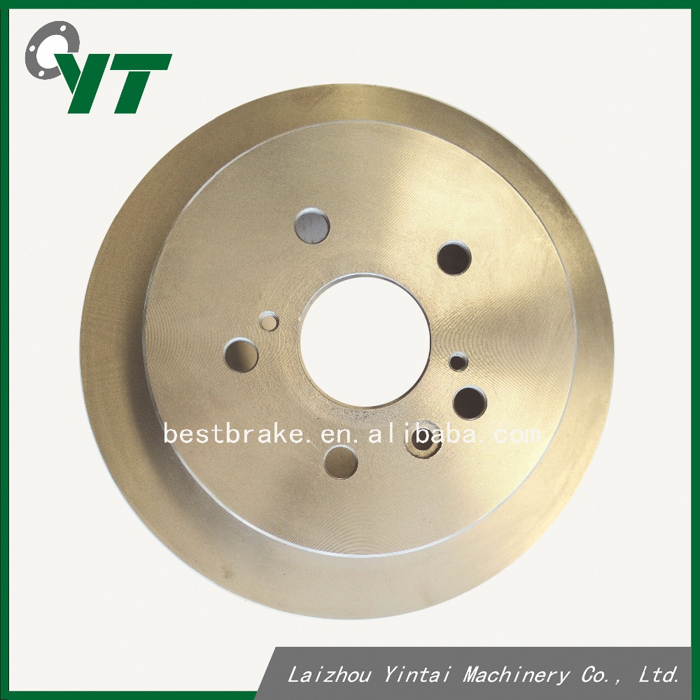 Factory price brake disc rotor for Toyota Avensis Verso Previa 4243128091 repacling rear brake disc