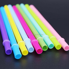 Reusable colored plastic drinking straws,bpa free 9 inches replacement mason jar straw,plastic acrylic striped straw PASS FDA