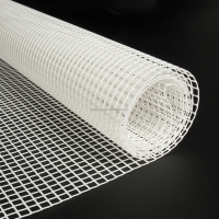 PE white plastic fencing mesh for home garden yard