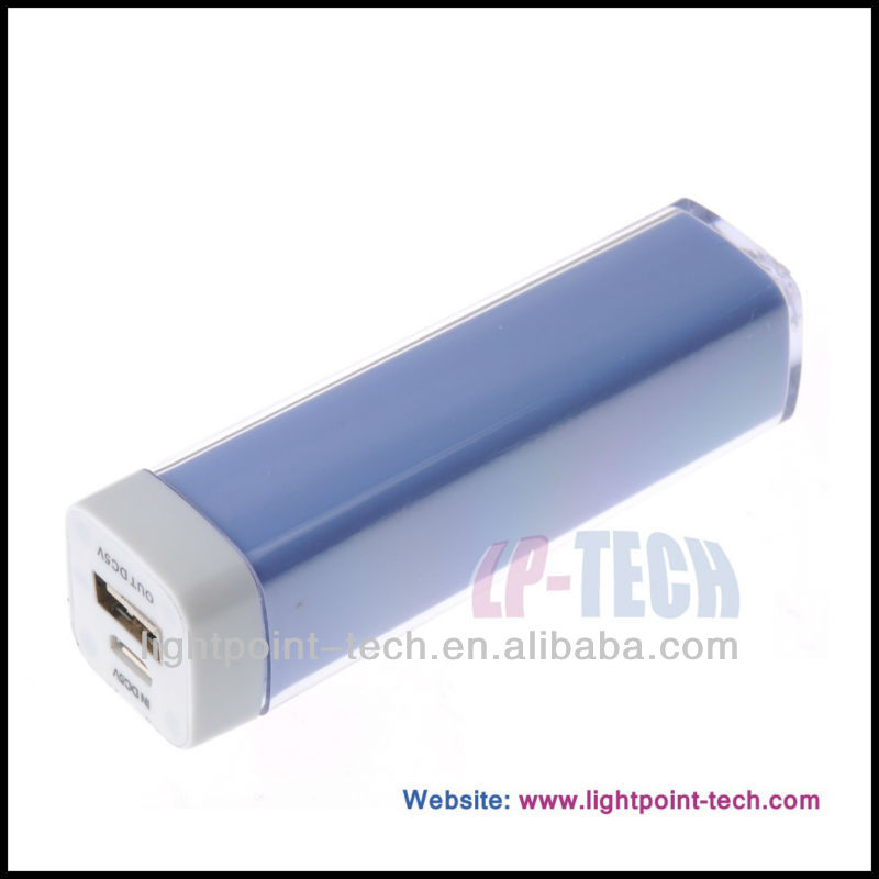 Cheap Colorful Power bank 2600mAh Charger for phone charger, for phone charger supplier, for phone charger manufacturer