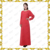 MF20162Latest Women Abaya Muslim Ladies Islamic Clothing Red WeddingChiffon kaftan