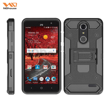 Heavy duty belt clip phone case cover for zte Grand X4