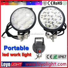 Portable 6inch 36W LED WORK LIGHT 12V 24V offroad lamp spot flood car truck oval AUTO LED WORKING LIGHT
