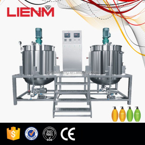 Electric Heating or Steam Heating Blending Mixer Double Tank