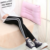 2017 sports style cotton pants with white stripe
