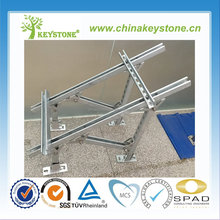 solar pv mounting system for ground installation with C type steel,solar mounting system,solar mounting