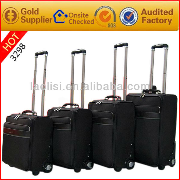 Guangzhou supply good quality 4 wheels for suitcase trolley laptop bag