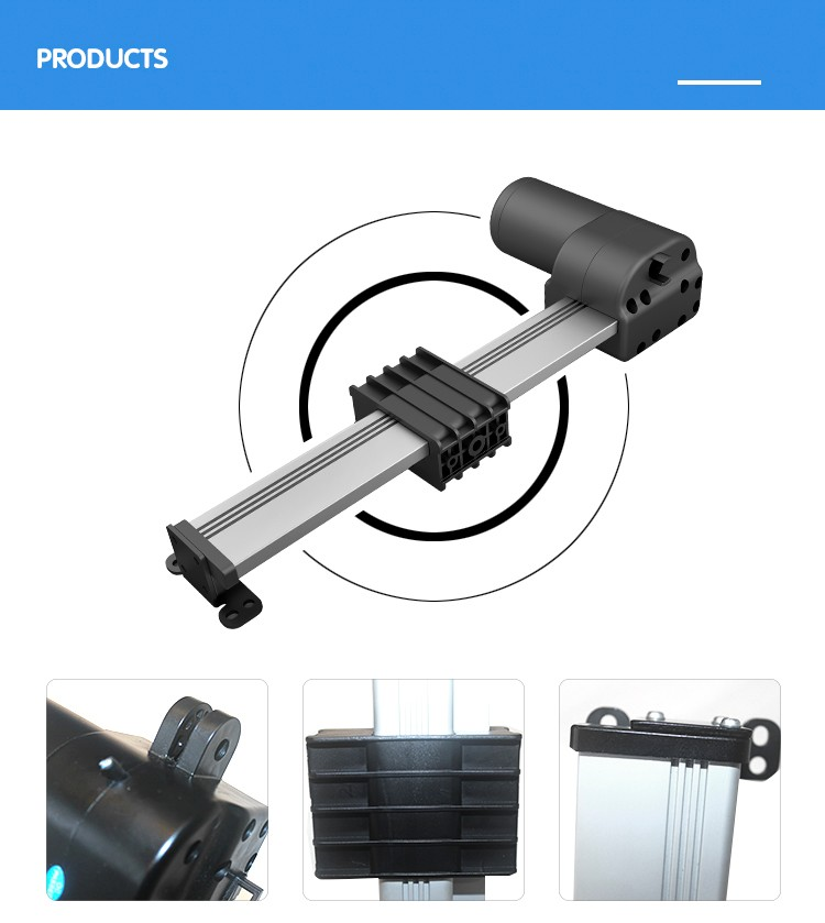 Jiecang JC35L track actuator nut moving outside reclining chair TV lift Recliner linear actuator