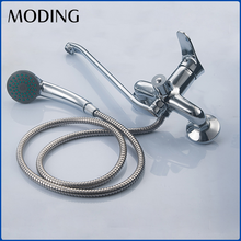 MODING 2017 Durable cUpc 0.1~1.6MPa Wall Mount Thermostatic Bathtub Faucet