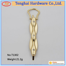 Fashion metal hand bag hardware accessory for purse