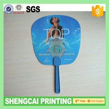 New style custom with high quality custom hand fan (die-cut)