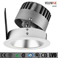 indoor luminaire round 7w 10w IP20 cob recessed downlight white high CRI dimmer led downlight