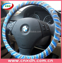 Durable colorful silicone anime car steering wheel cover