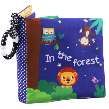 4 sheet cloth book 3 packs books early education toys 0-2 Years Old Baby Bear