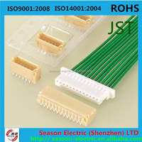 wire to board 1.0 mm pitch jst shr 6 pin SHR-06V-S-B connector