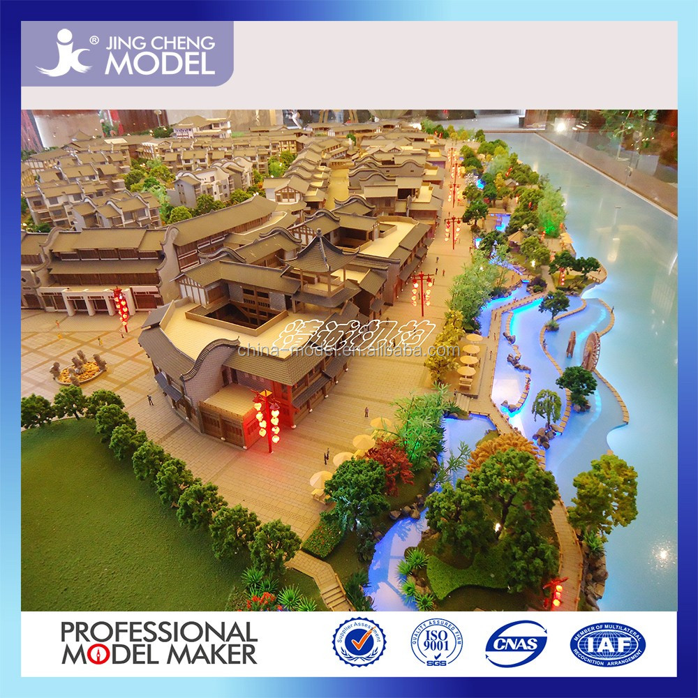 Scale architectural model making for real estate developer to sell house