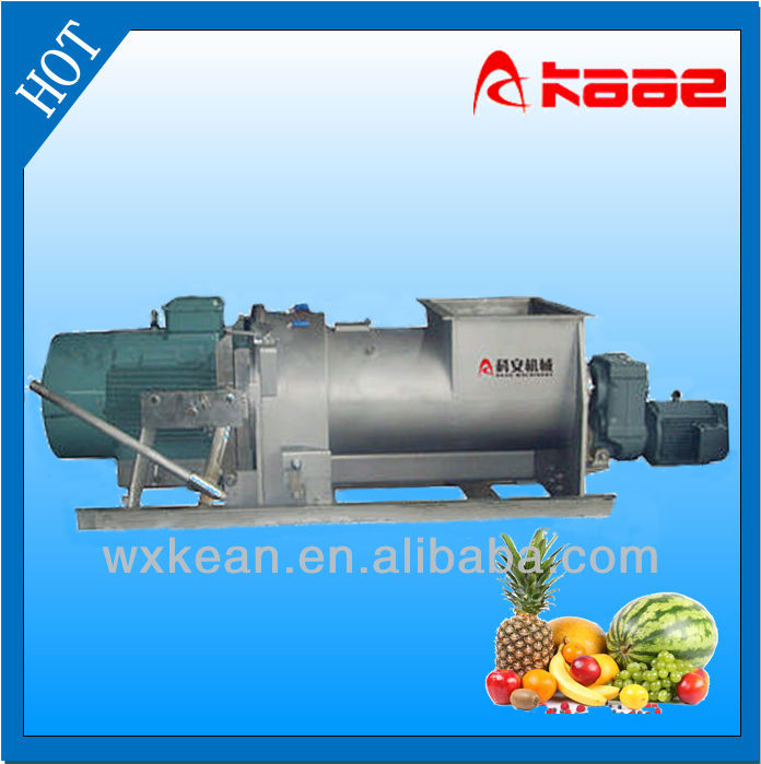 Hot sale fruit and vegetable toothed crusher