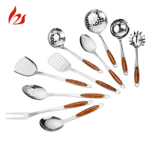 Hot Selling High Quality Stainless Steel Kitchen Cooking Tools Kit