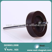 Air condition use injection ferrite magnet