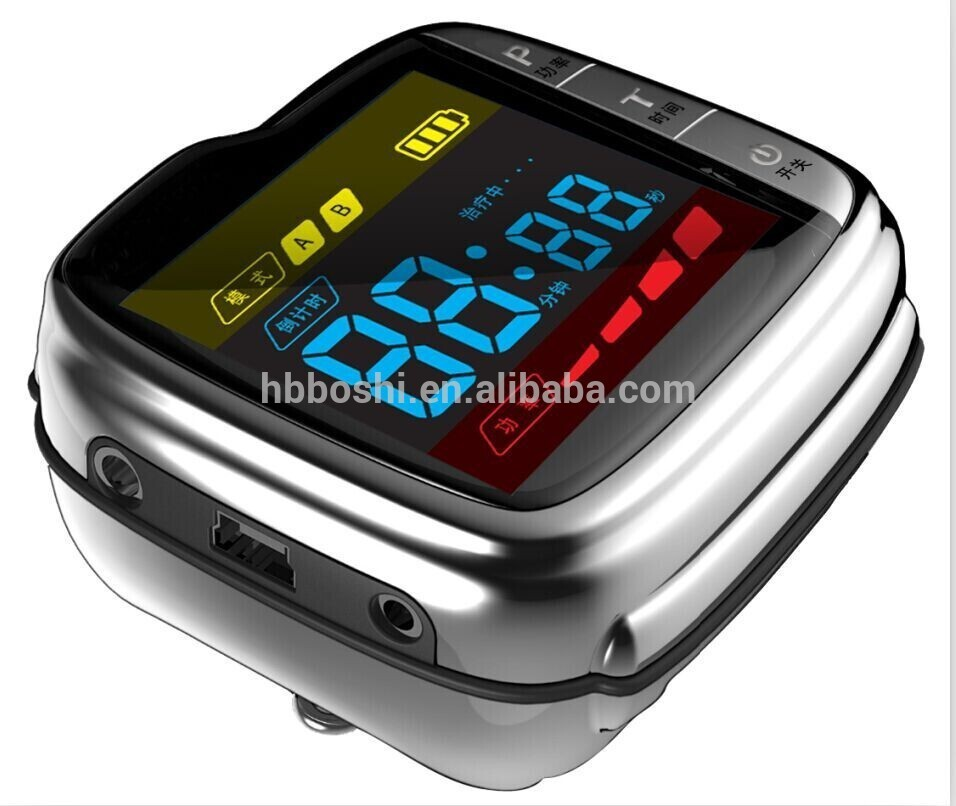 Low Level Laser Watch For High Blood Sugar Laser Therapy Device