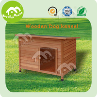 honey red wooden handmade dog kennel,dog house models