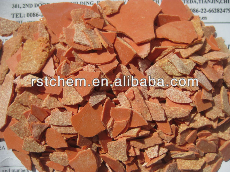 Leather--60% 150ppm Sodium Sulphide yellow flakes