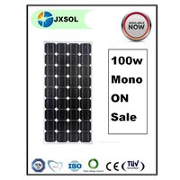 Made in China and A grade 100w Mono PV Solar panel