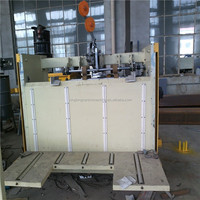Corrugated carton stitching machine one piece for making carton