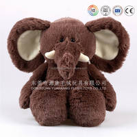 EN71/ASTM Safety good quality organic cotton baby plush toy elephant