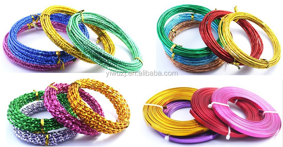 2017 Fashion DIY Metal craft wire Aluminum Wire for handmaking