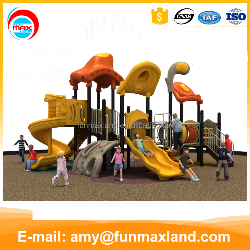 Colorful Large Children Sports Center Outdoor Kids Play Equipment
