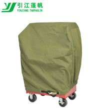 Ultrastrong Green Canvas Tarps for tractor covers