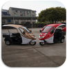 Fashional Electric Tricycle With Cabin Sunscreen And Windshief Glass Richshaw For Passenger and Cargo
