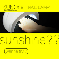 2016 uvled new product SUNone Gel Polish 42W uv led lamp nail dryer