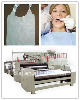 Dental Bib Paper Coating Machine DL