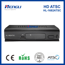 2017 new product! ATSC set top box decoder hd converter box