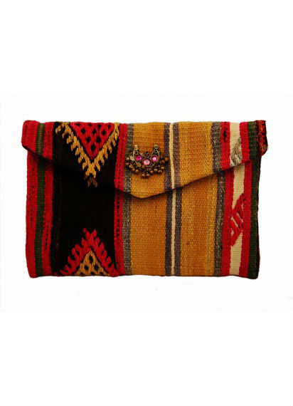 Woman Kilim Bag - Woman Handbag - Ladies Bag made of Kilim